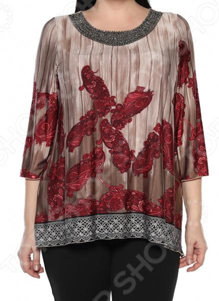 Блуза Лауме-Лайн «Жгучая». Цвет: красный