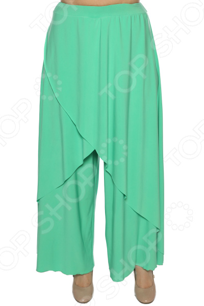 Юбка-брюки Pretty Woman «Крылья Пегаса». Цвет: васильковый