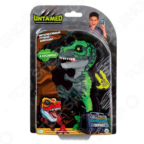Игрушка интерактивная Fingerlings «Динозавр Треккер»