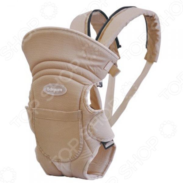 Рюкзак-кенгуру Baby Care HS-3184-C предназначен для ношения детей в возрасте от 1 месяца до 2,5 лет. Практичный и легкий рюкзак обеспечивает корректную поддержку ребенка благодаря эргономичной форме. Модель рассчитана на детей весом до 15 кг. Благодаря удобной конструкции, малыша можно располагать лицом к носящему и спиной к носящему. Кенгуру оснащен высокой жесткой спинкой и регулируемыми по всей длине ремнями. Рюкзак-кенгуру сделан из мягкого и довольно крепкого материала, который создает прохладу и комфорт для малыша. Эффективно отводит тепло и влагу от тела ребенка.  Легко трансформируется в слинг.  Стирается в машине при 30 градусах.  Легко складывается и занимает мало места. Такой рюкзак дает возможность родителям вести активный образ жизни. Посадив малыша в кенгуру вы можете ездить с ним в транспорте, посещать магазины и выставки, гулять и проходить в тех местах, где не проедет громоздкая коляска. Не требует особого ухода и легко стирается в теплой мыльной воде.