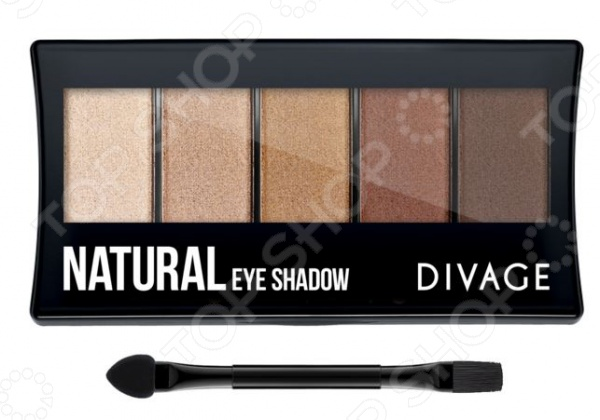 Набор теней для век DIVAGE Palettes Eye Shadow Natural