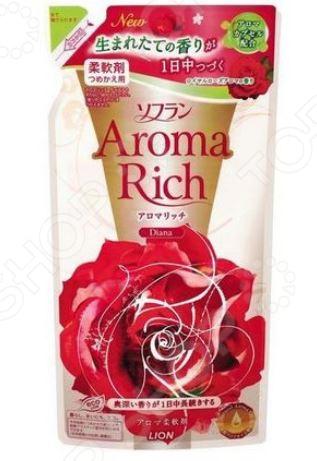 Кондиционер для белья Lion Aroma Rich Diana 231721 ополаскиватель lion soflan aroma rich maria с натур аром маслами 480 мл