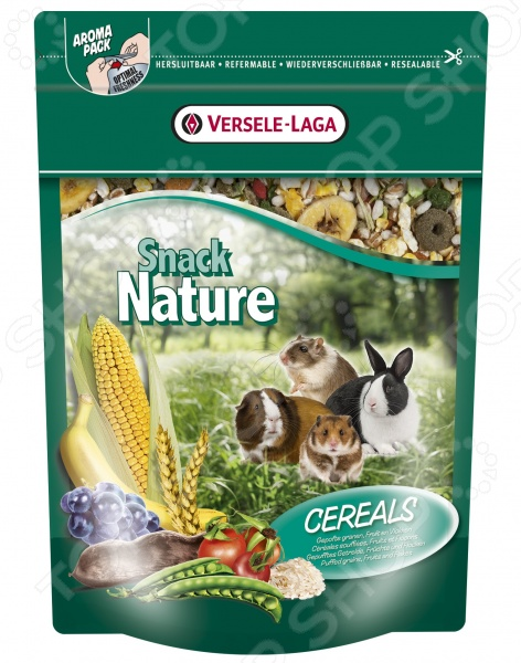 Корм для грызунов Versele-Laga Snack Nature Cereal