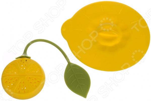 Ситечко для заваривания чая Agness «Лимон» 710-149