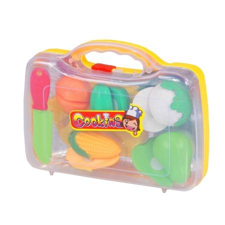 Купить Игровой набор для девочки Zhorya «Продуктовый набор. Овощи и фрукты»