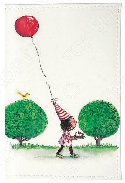Обложка для автодокументов Mitya Veselkov «Праздничный день» обложка для автодокументов кожаная mitya veselkov день сбора яблок