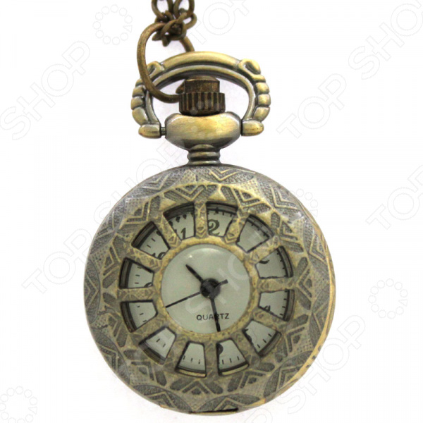 Кулон-часы Mitya Veselkov «Колесо фортуны»
