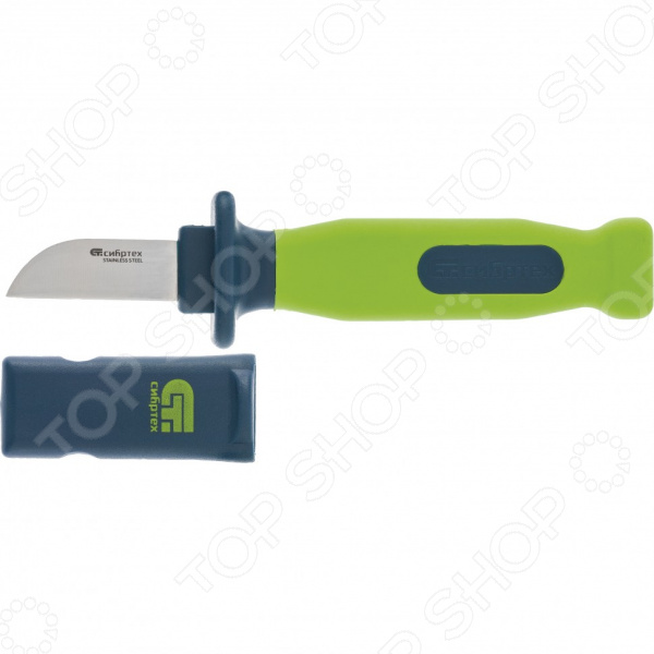 Нож монтажника СИБРТЕХ с чехлом