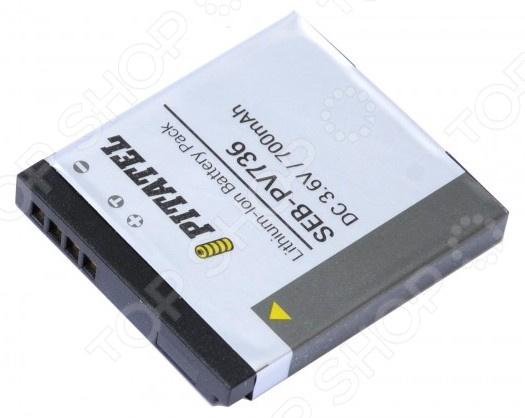 Аккумулятор для камеры Pitatel SEB-PV736 2pcs 1400mah dmw blc12 dmw blc12e dmcblc12 blc12 battery