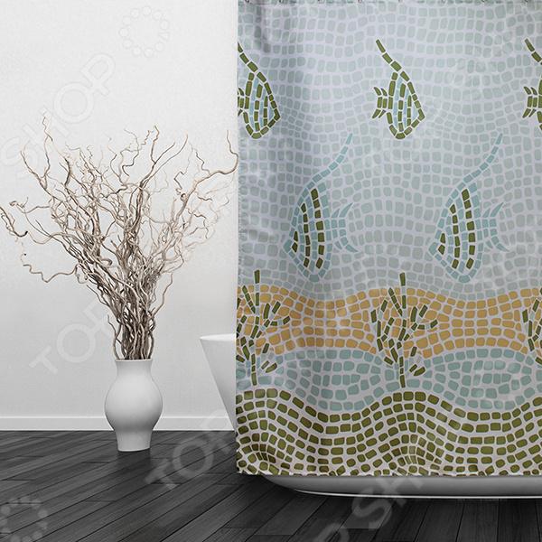 Штора для ванной Dasch «Мозаика»