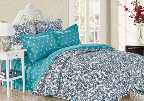 Комплект постельного белья Cleo 451-SK комплект постельного белья двуспальный cleo sk 2 441