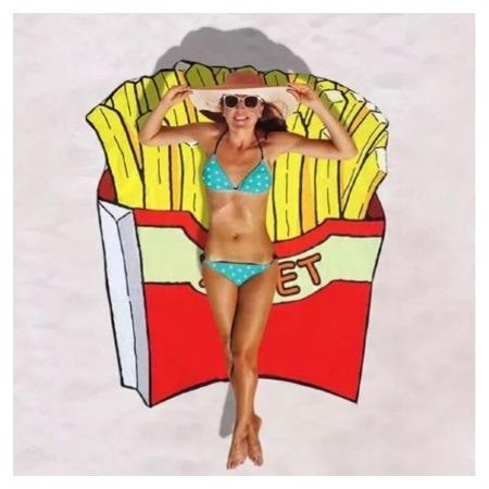 Купить Покрывало-парео пляжное Beach Towel «Картофель Фри»
