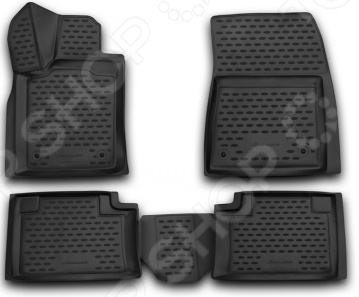 Комплект 3D ковриков в салон автомобиля Novline-Autofamily Jeep Grand Cherokee 2014