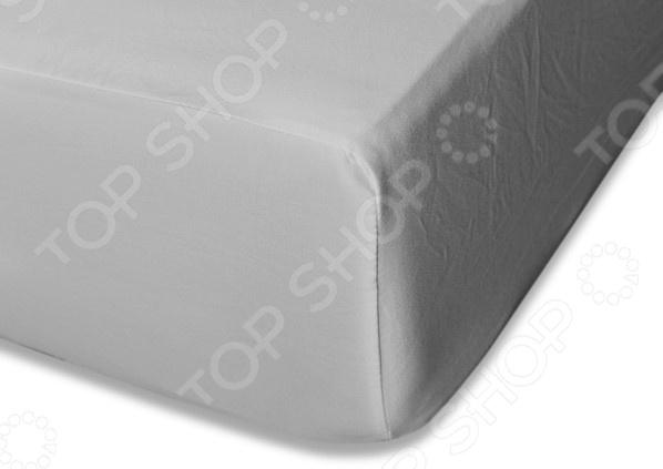 Простыня на резинке Cleo 035-MS простыня cleo 120x200x25 120 026 ms