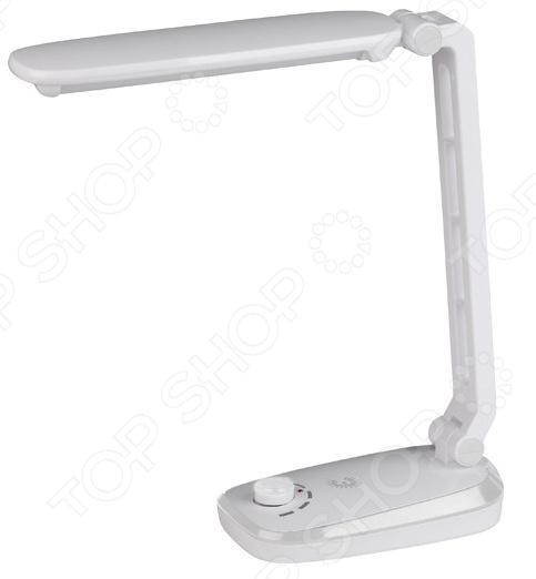 Настольная лампа Эра NLED-425 лампа настольная эра nled 421 3bk черная