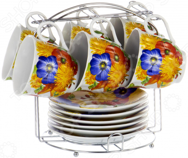 Набор чайный OlAff Metal Stand DL-F6MS-199