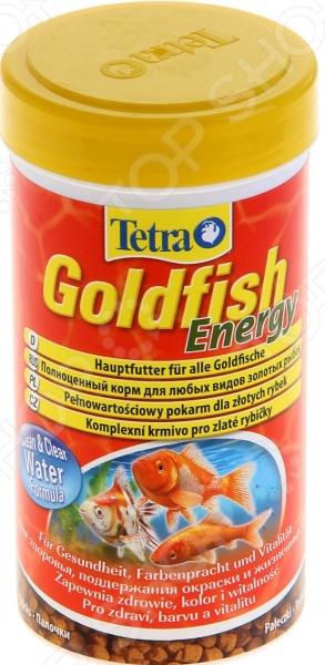 Корм для золотых рыбок Tetra Goldfish Energy корм tetra tetramin xl flakes complete food for larger tropical fish крупные хлопья для больших тропических рыб 10л 769946