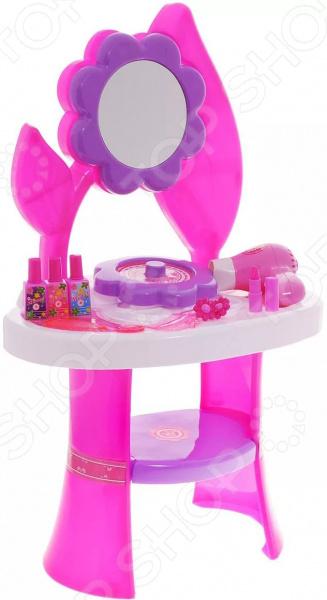 Игровой набор для девочки 1 Toy «Туалетный столик большой: Цветок»