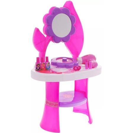 Купить Игровой набор для девочки 1 Toy «Туалетный столик большой: Цветок»
