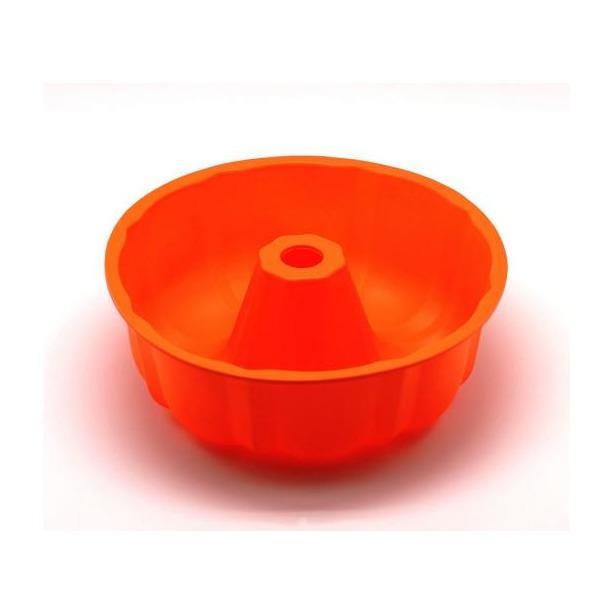 фото Форма для выпечки силиконовая Atlantis «Шарлотка» SC-BK-002. Цвет: оранжевый