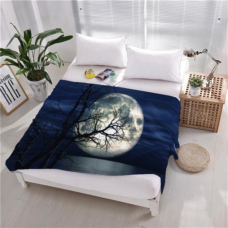 Купить Плед флисовый ТамиТекс «Лунный восход»