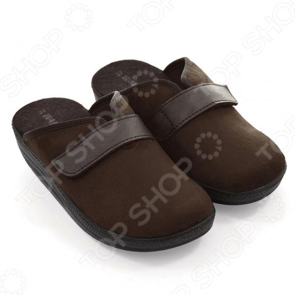 Тапочки Walkmaxx Comfort 2.0. Цвет: коричневый