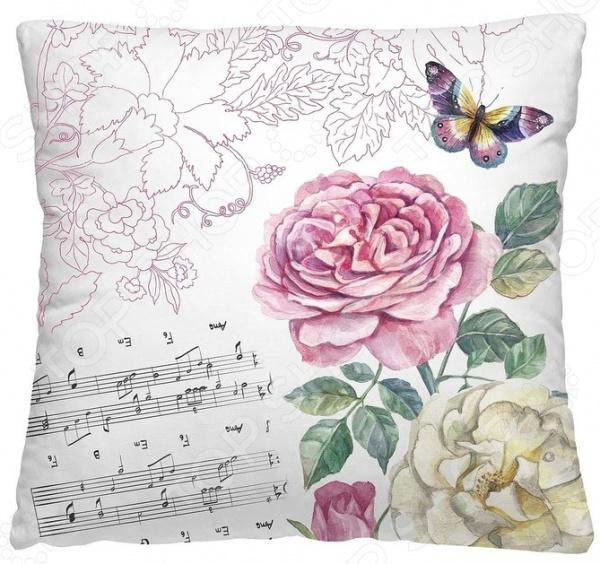 Подушка декоративная Волшебная ночь «Ноты»