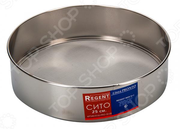 Сито Regent Linea Promo 93-PRO-32-25W кастрюля regent inox linea promo 6l 24x13 5cm 94 1006