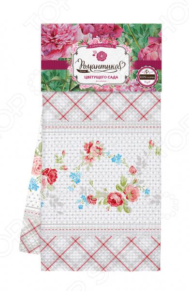Полотенце вафельное Романтика «Розовый ноктюрн» ноктюрн пифагора