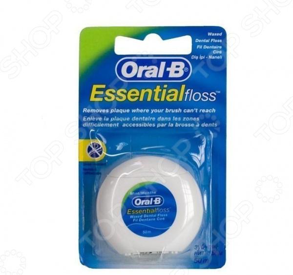 Зубная нить мятная Oral-B Essential floss