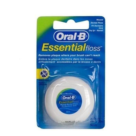 Купить Зубная нить мятная Oral-B Essential floss