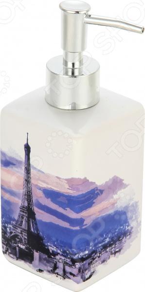 Диспенсер для жидкого мыла Рыжий кот «Париж»