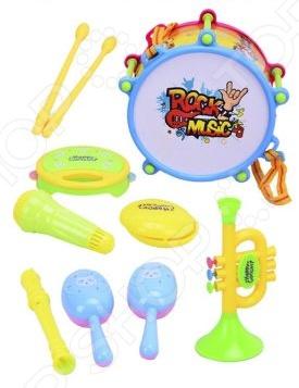 Набор музыкальных инструментов Наша Игрушка 632721 игрушка mehano 1 f101 набор рельс