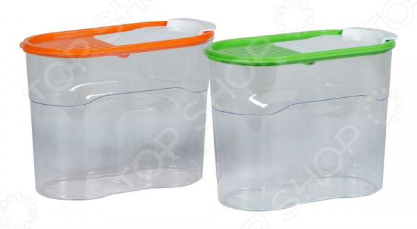 Набор банок для сыпучих продуктов Полимербыт SGHPBKP54 «Люкс»