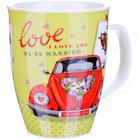 Кружка Loraine LR-25973-2 Love кружка loraine love 340 мл 25973 page 1