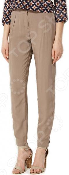 Брюки Finn Flare S16-32045. Цвет: светло-коричневый брюки finn flare s16 24008 цвет светло серый