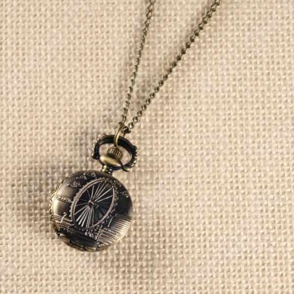 Кулон-часы Mitya Veselkov «Колесо обозрения»