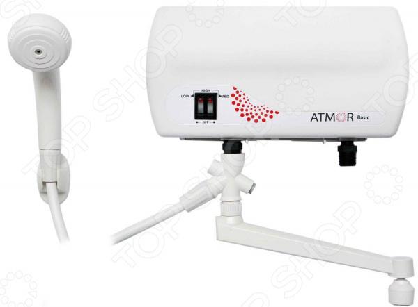 Водонагреватель Atmor Basic 5 душ+кухня водонагреватель проточный atmor basic 5квт кухня