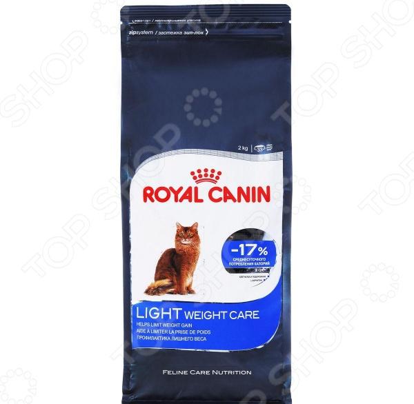 Корм сухой для кошек Royal Canin Light Weight Care корм сухой royal canin mini light weight care для взрослых собак склонных к ожирению 2 кг