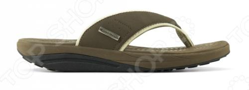 Сланцы мужские Walkmaxx Flip Flop. Цвет: коричневый 5