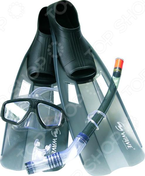 Набор из маски, трубки и ласт WAWE Mask Snorkel Fins WAWE - артикул: 919052