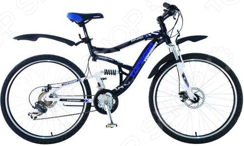 Велосипед Top Gear Explorer 425AL велобагажник uni explorer topeak с дисковыми тормозами черный алюминий ta2047 b