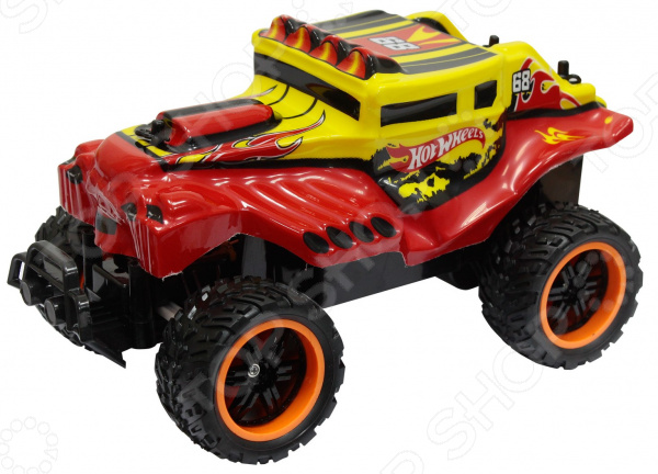 Машинка на радиоуправлении 1 Toy Hot Wheels «Багги» Т10986