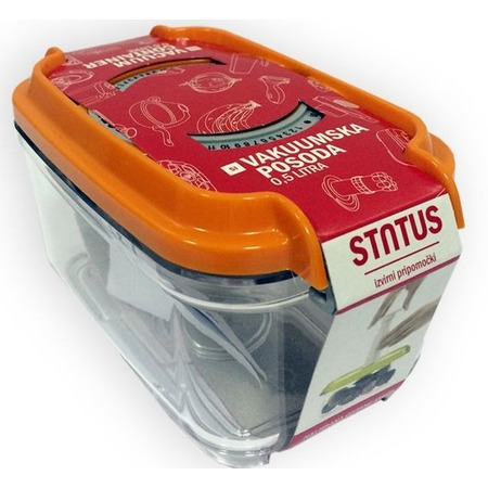 Купить Контейнер вакуумный для продуктов STATUS VAC-REC-05