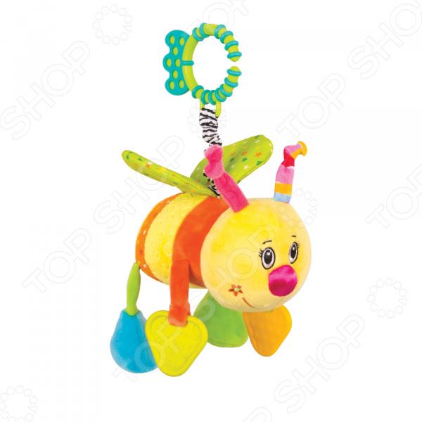 Игрушка подвесная Happy Snail «Пчёлка Жу-жу» happy snail happy snail подвесная игрушка морские приключения