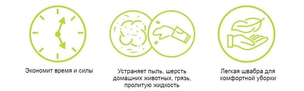 Гибкая спрей-швабра Rovus «Флекс» 13