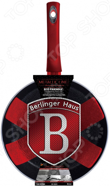 Флип сковорода Berlinger Haus Burgundy Metallic все цены