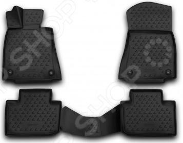 Комплект ковриков в салон автомобиля Novline-Autofamily Lexus IS 250 / IS F 2005-2013 - фото 2