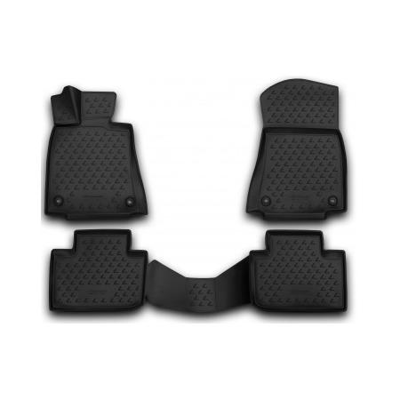 Купить Комплект 3D ковриков в салон автомобиля Element Lexus IS 250 2013-2015 / 2015