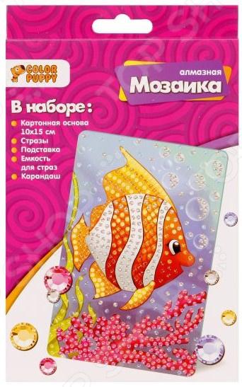 Набор для создания мозаики Color Puppy «Рыбка»